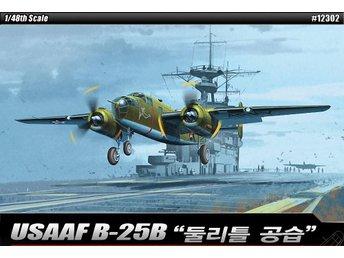 Academy 1/48 USAAF B-25B Doolittle Raid - Skoghall - Academy 1/48 USAAF B-25B Doolittle Raid - Skoghall