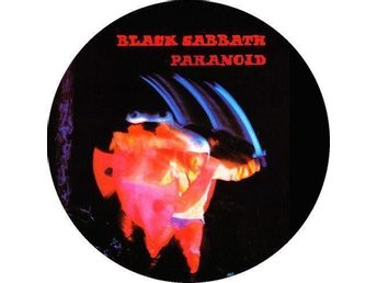 BLACK SABBATH - 4,5 cm, Badge / Pin / Knapp (PARANOID, OZZY,)