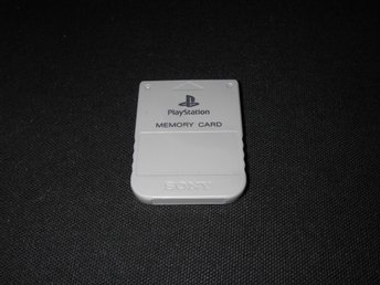 Orginal 1mb Minneskort till Playstation 1