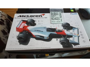 Mclaren Mp4/5 Monaco Gp Fujimi 1/20 plus bonus
