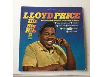 LLOYD PRICE - HIS BIG HITS. (LP) - Frövi - LLOYD PRICE - HIS BIG HITS. (LP) - Frövi
