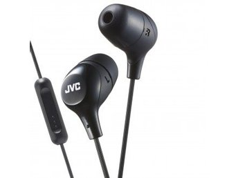 JVC Hörlur Marsmallow In-Ear Mic Svart