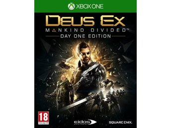 Deus Ex: Mankind Divided Day One Edition - Helt nytt till Xbox One!!! REA