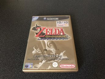Zelda Wind Waker Limited Edition - Gamecube- Svensk Version