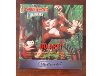 "Donkey Kong Country 1994 promo CD ""Go Ape!"" Rare"