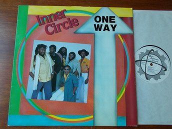 INNER CIRCLE - One way, LP Real Authentic Sound UK 1987