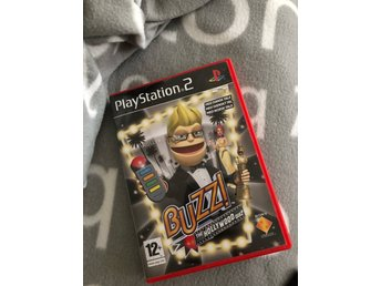 Buzz the Hollywood quiz på Svenska manual Ps2 Nästan Repfri Fri Frakt