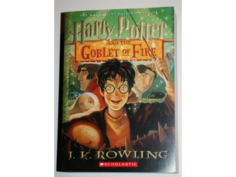 Ny oläst HARRY POTTER AND THE GOBLET OF FIRE J K Rowling Tryckt år 2002