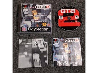 PS1/Playstation - Grand theft auto 2 (GTA) - PAL/EU komplett