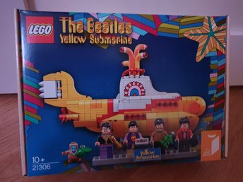Ny Oöppnad LEGO Ideas 21306 The Beatles Yellow Submarine
