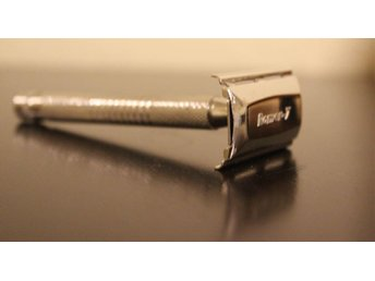 RomeR Rakhyvel Razor.Lång robust handle.Diamond Cut Handle.[DIAMOND]Gratis Blade