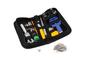 ReparationsKit Klockor 144 Pcs Watch Repair Kit Case Opener Pins Link Remover Sp