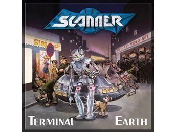 Scanner -Terminal earth LP ltd 500 numbered copies Massacre