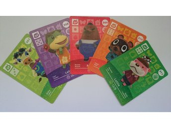 Animal Crossing Amiibo Cards series 4 Nr 307-311