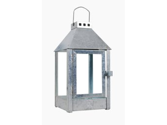 A2 Living - Mini Galvanized Steel Lantern