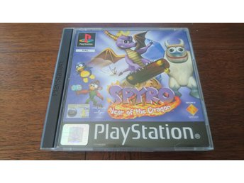 Spyro: Year of the dragon - original - PS1 - playstation - svensk