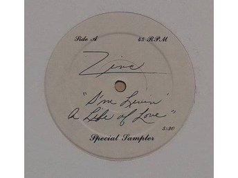 "Zinc title*  I'm Livin' A Life Of Love*Disco, Electro 12""Special Sampler US"