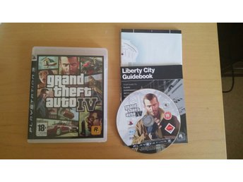 Grand Theft Auto IV Playstation 3 spel