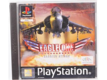 Eagle One: Harrier Attack - PS1 - PAL (EU)