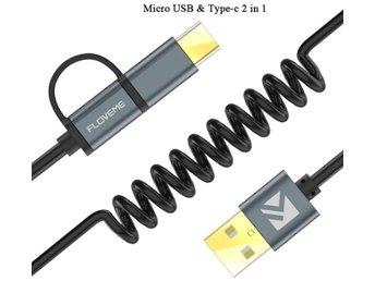 Javascript är inaktiverat. - Varberg - CinkeyPro USB-kabel 2 i 1 (ORIGINAL)2 i 1 - Smart konstruktion som gör att samma kabel kan användas både till Type-C samt Micro-USB (SONY, LG, Samsung, HTC, Huawei, Palm, Motorola etc..)Både laddning och datasync Quick Charge 3.0Färg: Finns - Varberg