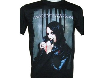 T-SHIRT: MARILYN MANSON  (Size S)