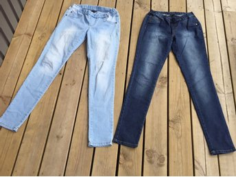 Jeans leggings stretch jeans storlek 152 Kappahl