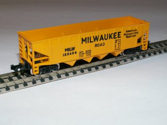USA GODSVOGN  -- MILWAUKEE ROAD