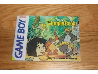 Gameboy Manual The Jungle Book (SCN) OVANLIG
