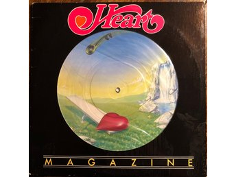 "HEART PICTURE DISC ""MAGAZINE"""