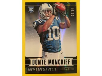 DONTE MONCRIEF: 2014 Rookies and Stars Longevity Black Parallel #133 10ex