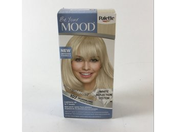 Mood, Permanent Hårfärg, Strl: 50ml, 107 silverblond, luminous blonde
