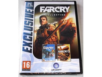 Far Cry Collection (Farcry + Farcry 2) (PC) **HELT NY**