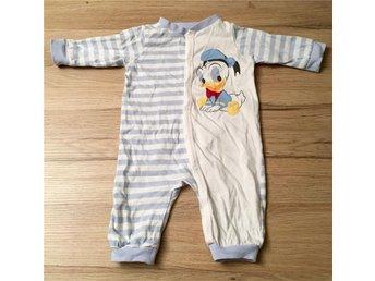Kalle Anka pyjamas strl 50 (nyskick) - Vallda - Kalle Anka pyjamas strl 50 (nyskick) - Vallda