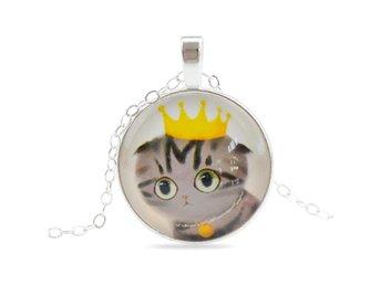 Halsband Med Katt - Sött Fint Gulligt - Nasugbu - Halsband Med Katt - Sött Fint Gulligt - Nasugbu