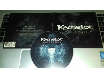 Kamelot - Sacrimony/Welcome Home - CD-singel (2 tr) - (Excl. for SRM) -2012 -VG+