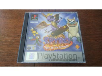 Spyro: Year of the dragon - Platinum - PS1 - Playstation - Svensk