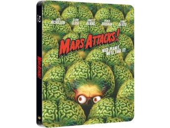 Mars Attacks! Steelbook - Limited Edition Steelbook Blu-ray - Sörberge - Mars Attacks! Steelbook - Limited Edition Steelbook Blu-ray - Sörberge