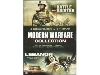 MODERN WARFARE COLLECTION  - 4 DVD BOX (SVENSKT TEXT)