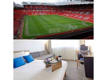 2 tickets to Manchester United - Stoke 15 Jan including hotel