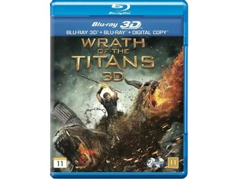 Wrath of the Titans (Blu-ray 3D + Blu-ray + Digital Copy) i NYSKICK