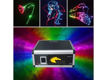 5W Analog Modulation RGB med SD LASER