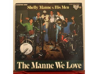 LP. SHELLY MANNE & HIS MEN - THE MANNE WE LOVE. JAPAN. 1979.