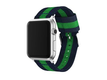 AppleWatchBandGrön-Vit-Röd42mm