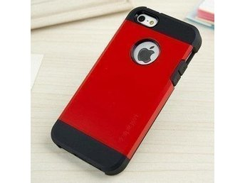 iPhone 5S / 5 Case Tough Armor - Crimson Red