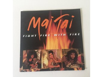 "MAJ TAJ - FIGHT FIRE WITH FIRE. (7"")"