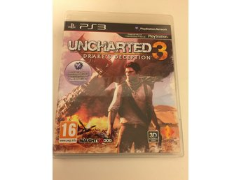 Uncharted 3 Drake´s Deception. Svensksåld