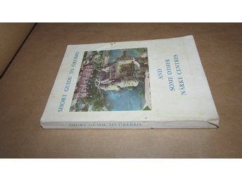 SHORT GUIDE TO ÖREBRO AND SOME OTHER NÄRKE CENTRES- Lennart Westlinder 1958