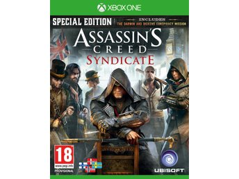 Assassins Creed Syndicate Special Edition - Nordisk - Nytt till Xbox One!!! REA