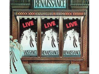 RENAISSANCE - LIVE AT CARNEGIE HALL (GATEFOLD) 2xLP