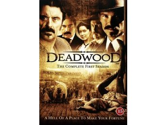 Deadwood säsong 1.      4 dvd